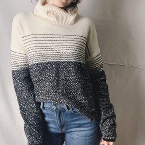 ATHLETA Fireside Merino Wool Gradient Turtleneck